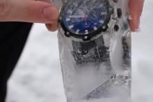 Лёд против Боевых пловцов. Эксперимент.