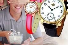 Как выбрать золотые, серебряные часы в подарок?