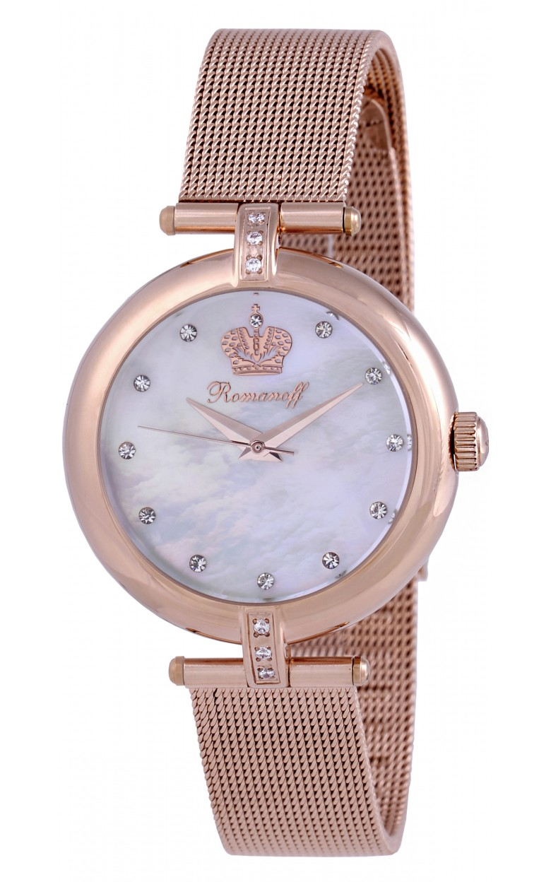 10605B1 российские женские кварцевые часы Romanoff  10605B1