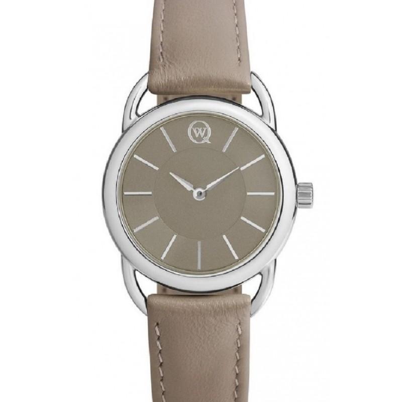 6112.00.00.9.75A Часы наручные Qwill кварцевые серебро 925 6112.00.00.9.75A