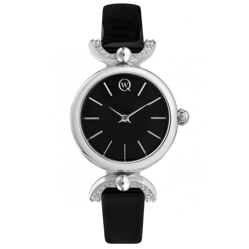 6115.06.02.9.55B российские серебрянные женские кварцевые часы Qwill  6115.06.02.9.55B