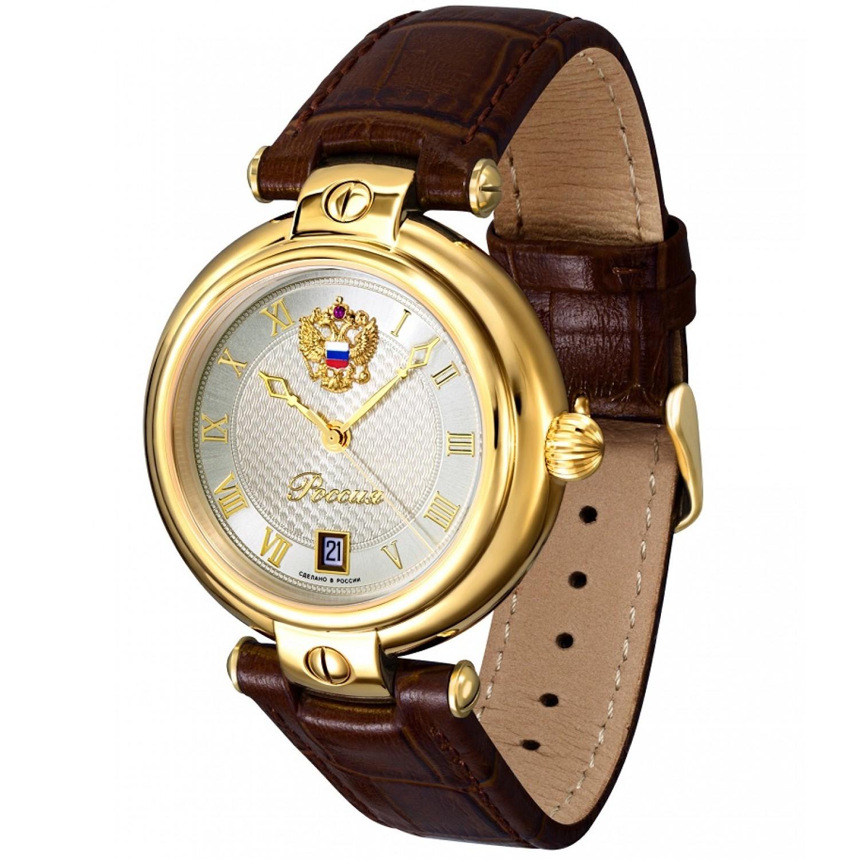 8215/4446417П российские механические наручные часы Полёт-Стиль для мужчин  8215/4446417П