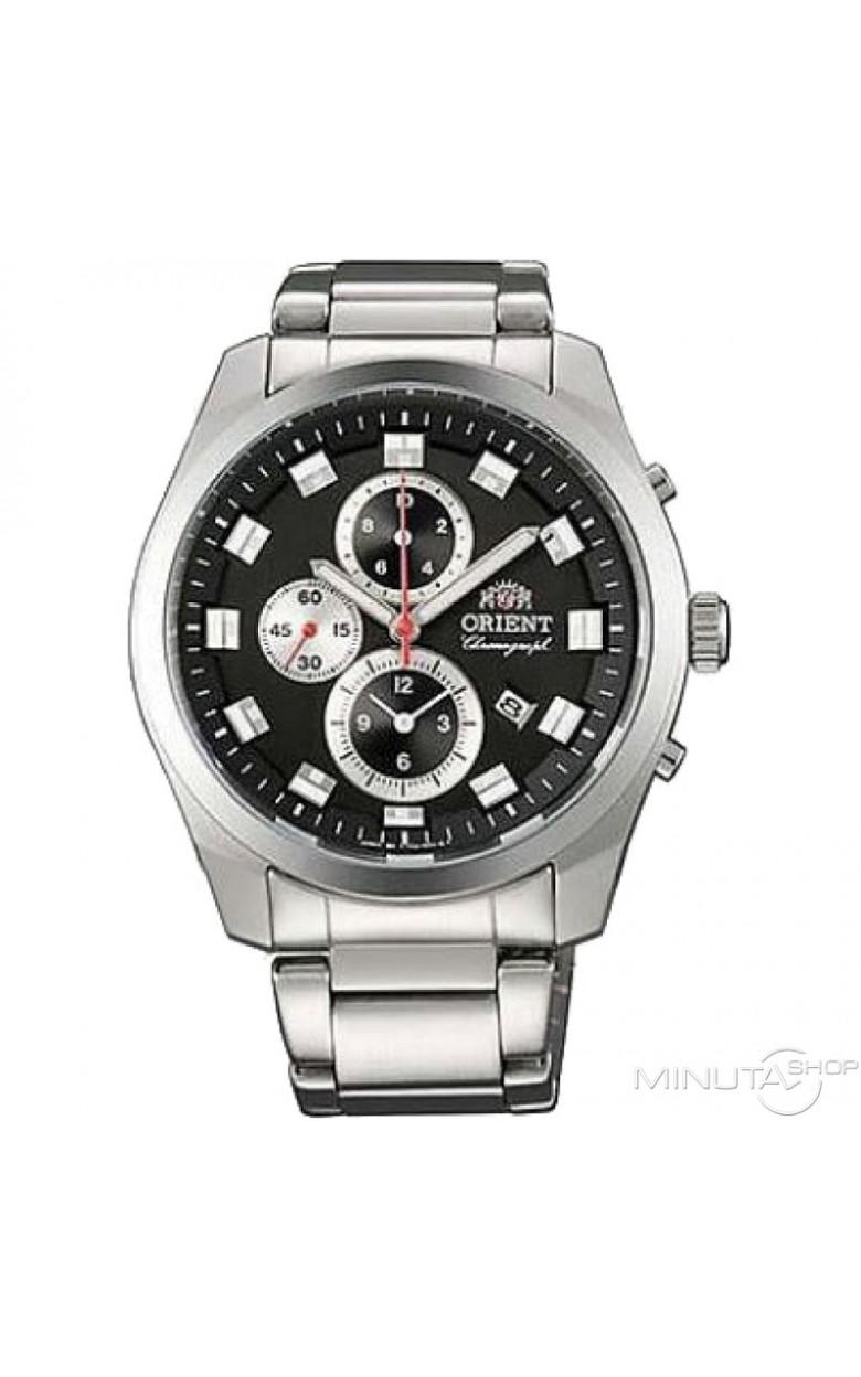 FTT0U002B0 японские мужские кварцевые наручные часы Orient  FTT0U002B0