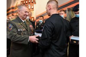 Вручение часов «Группа А» новому пополнению легендарного антитеррористического спецподразделения ФСБ