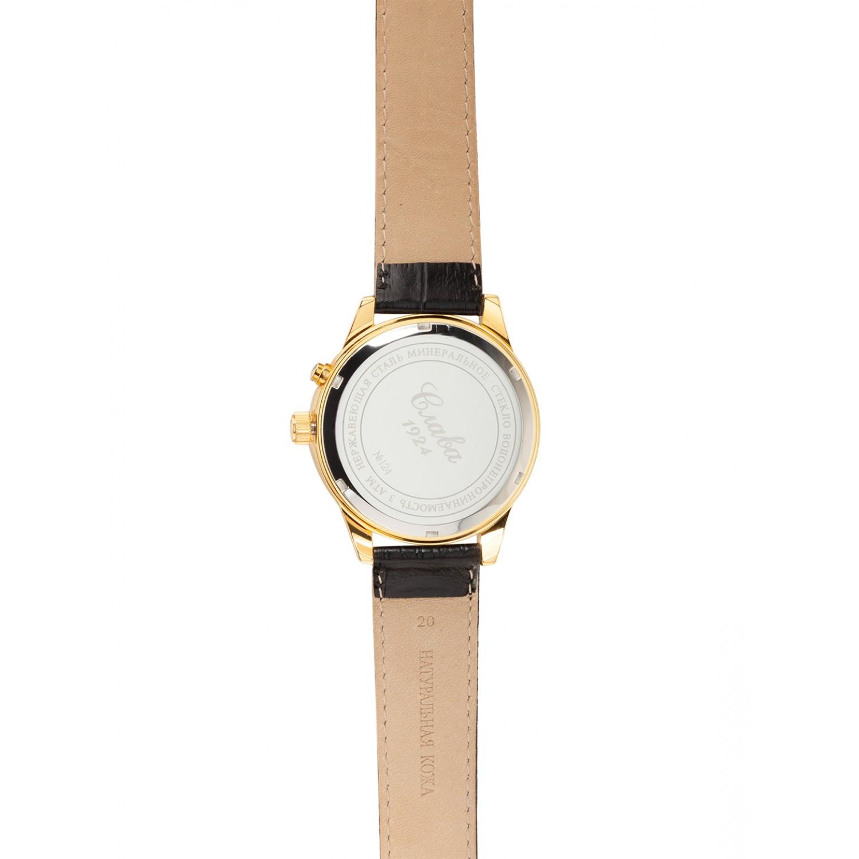 1249426/300-2428 российские мужские механические наручные часы Слава