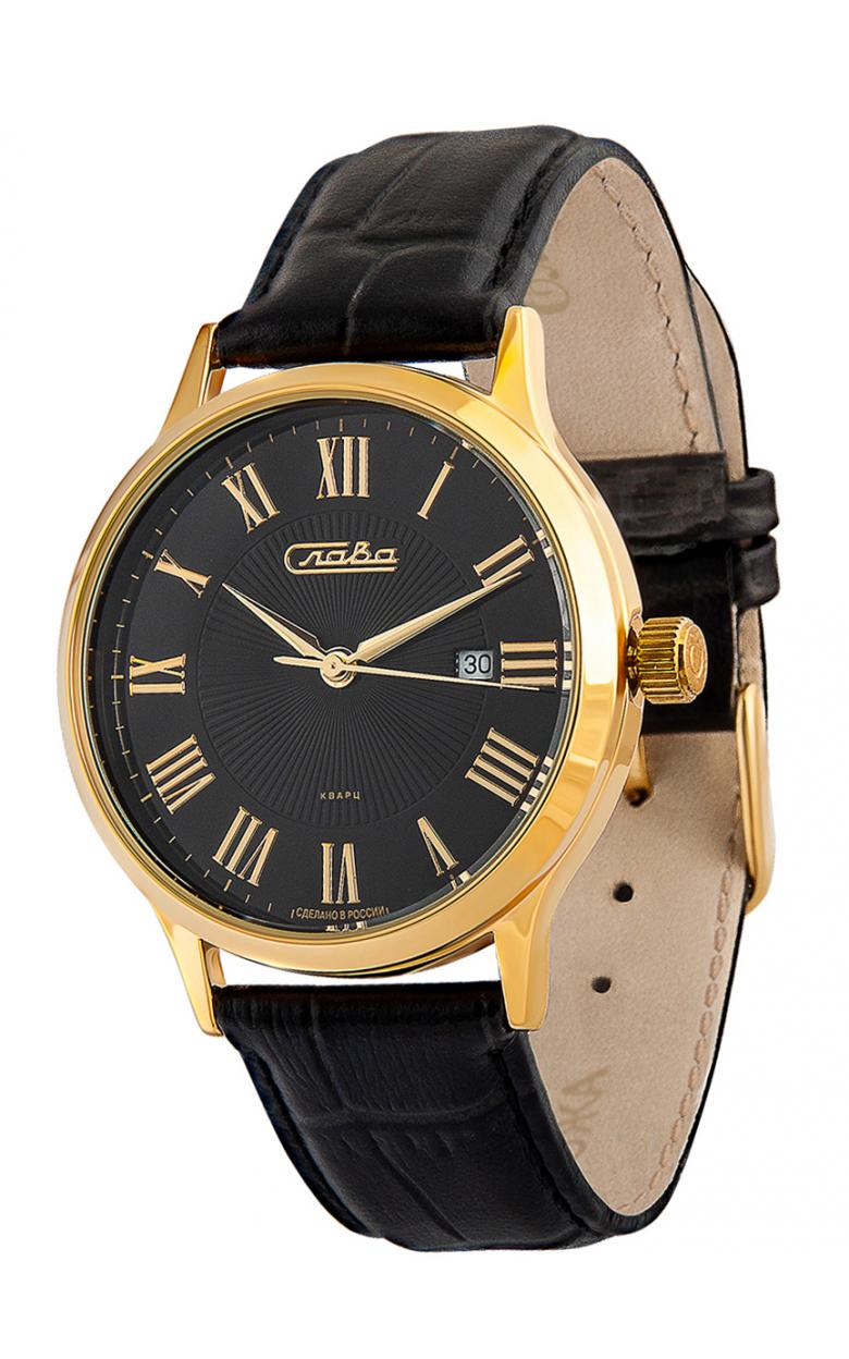 1269079/2115-300  мужские кварцевые наручные часы Слава  1269079/2115-300