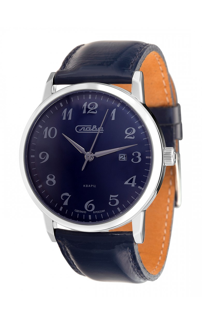 """1391739/2115-300 российские кварцевые наручные часы Слава """"Традиция"""" для мужчин  1391739/2115-300"""