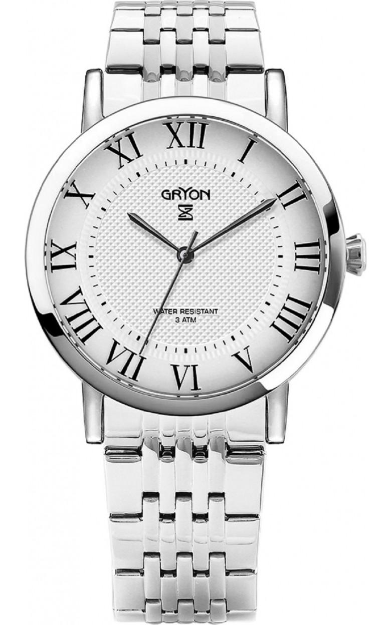 G 121.10.13 швейцарские кварцевые наручные часы Gryon для мужчин  G 121.10.13