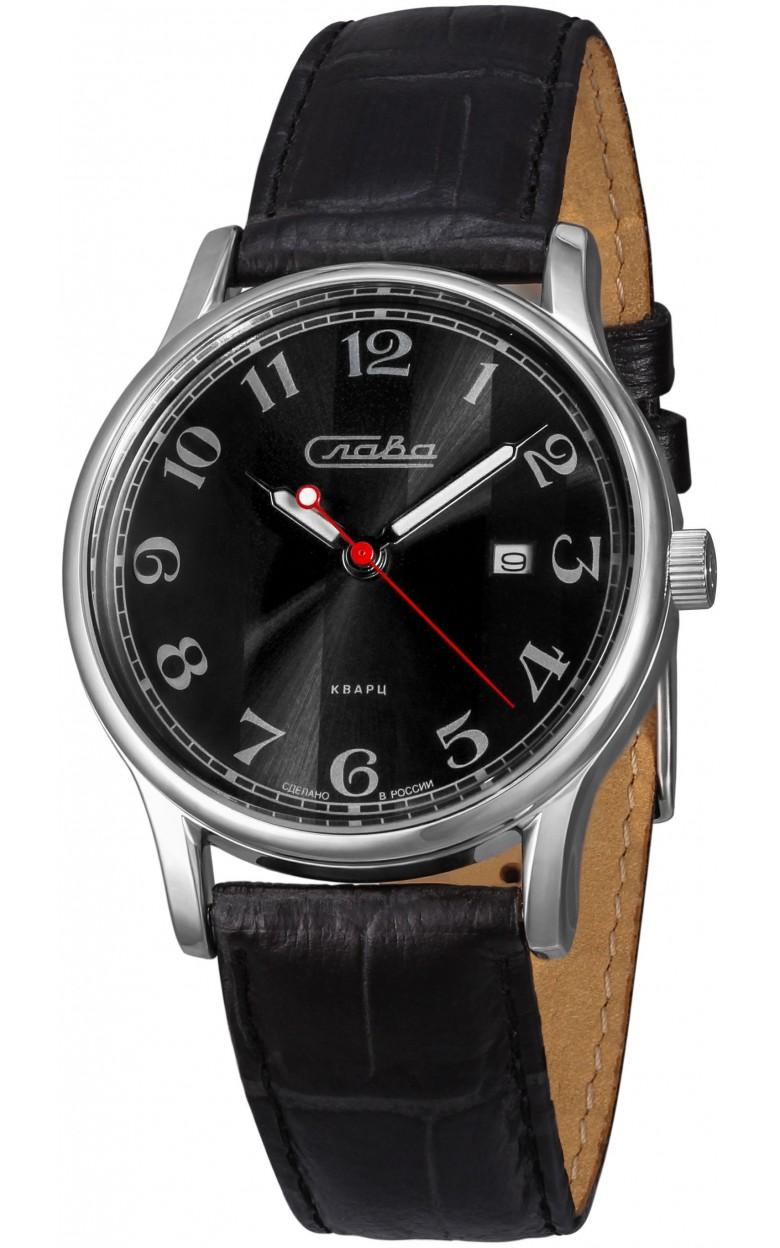 """1401716/2115-300 российские кварцевые наручные часы Слава """"Традиция"""" для мужчин  1401716/2115-300"""