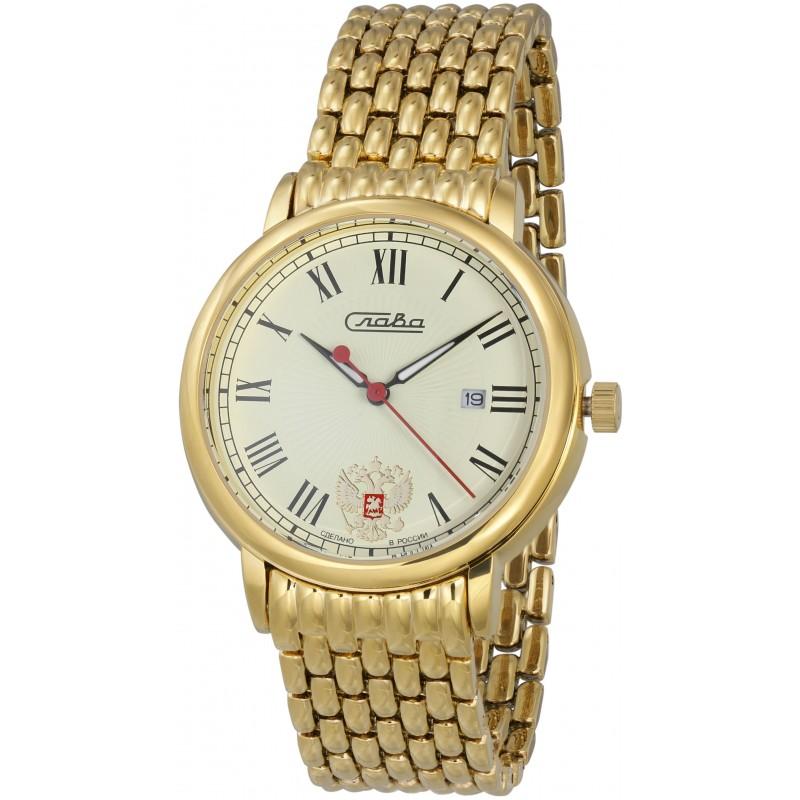 1419711/2115-100 российские кварцевые наручные часы Слава
