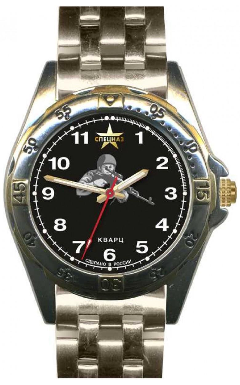 """С2011284-2035-04 российские мужские кварцевые наручные часы Спецназ """"Атака"""" для военных  С2011284-2035-04"""