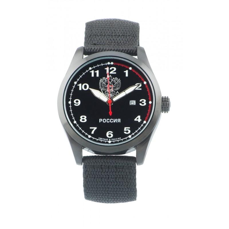"""С2864323-2115-09  кварцевые наручные часы Спецназ """"Атака"""" логотип Герб РФ  С2864323-2115-09"""