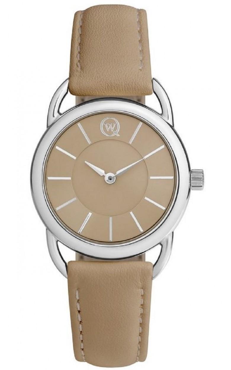 6112.00.00.9.85A Часы наручные Qwill кварцевые серебро 925