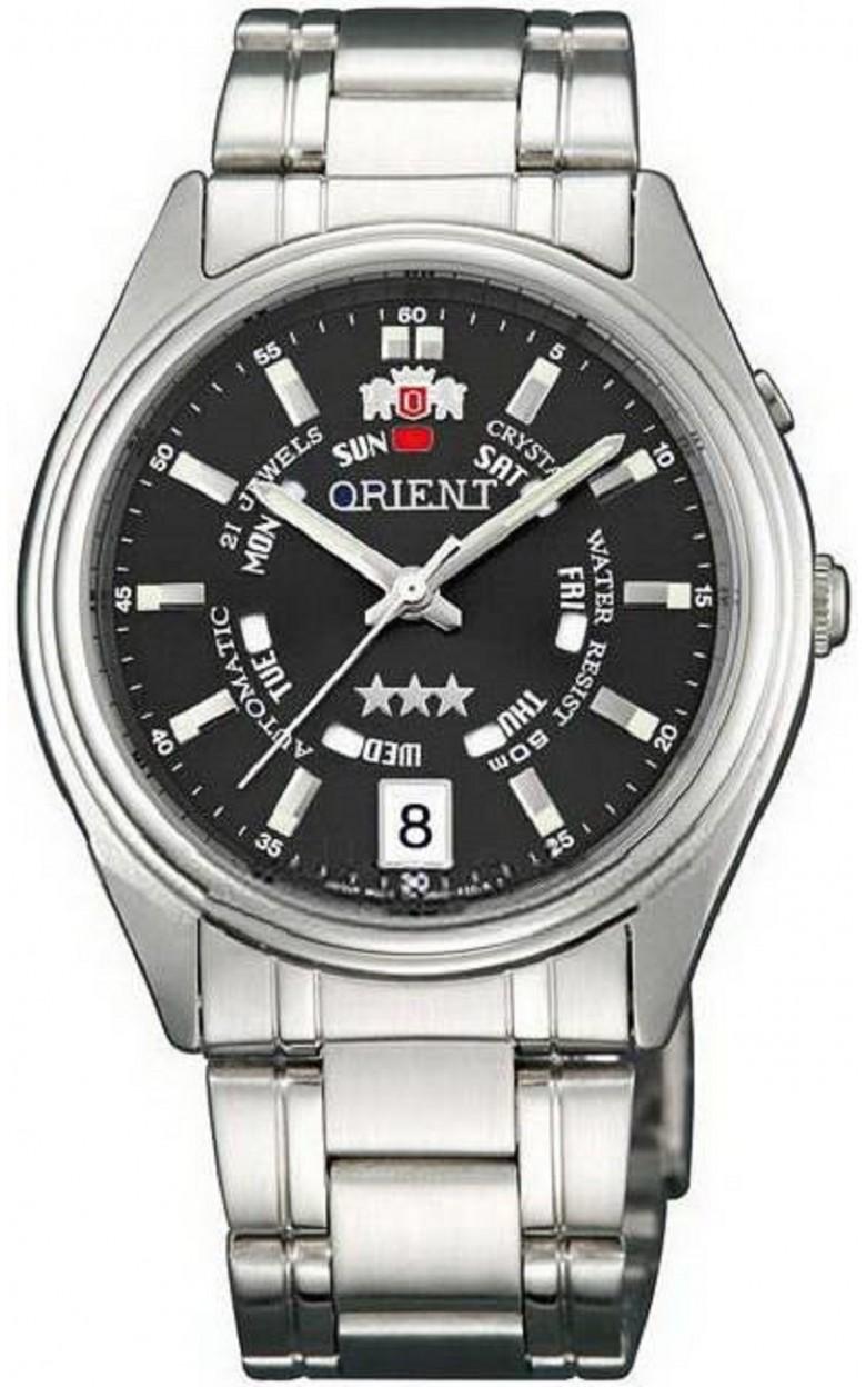 FEM5J00LB7 SS японские мужские механические часы Orient  FEM5J00LB7 SS