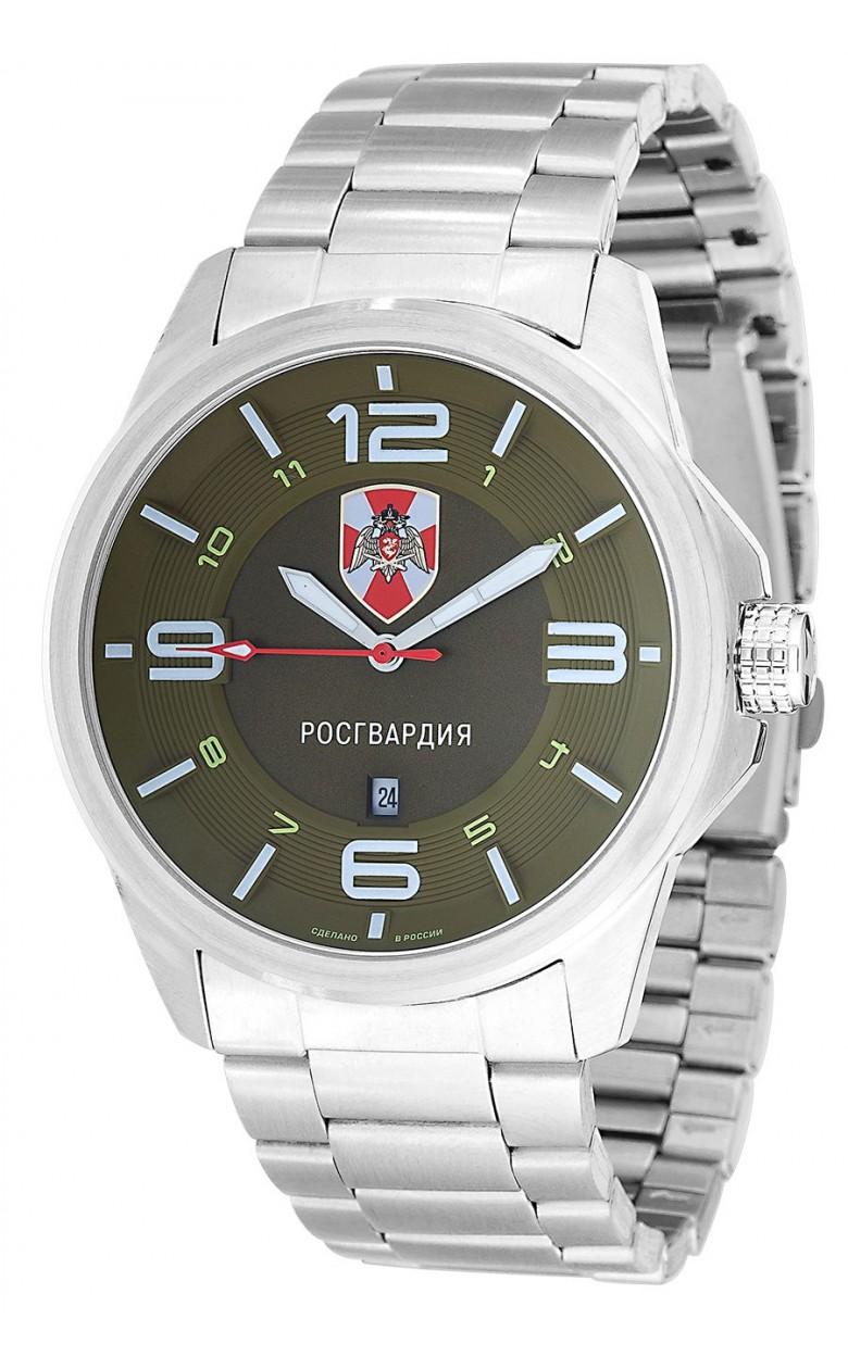 "С2920370-2115-04  кварцевые часы Спецназ ""Атака"" логотип Росгвардия  С2920370-2115-04"