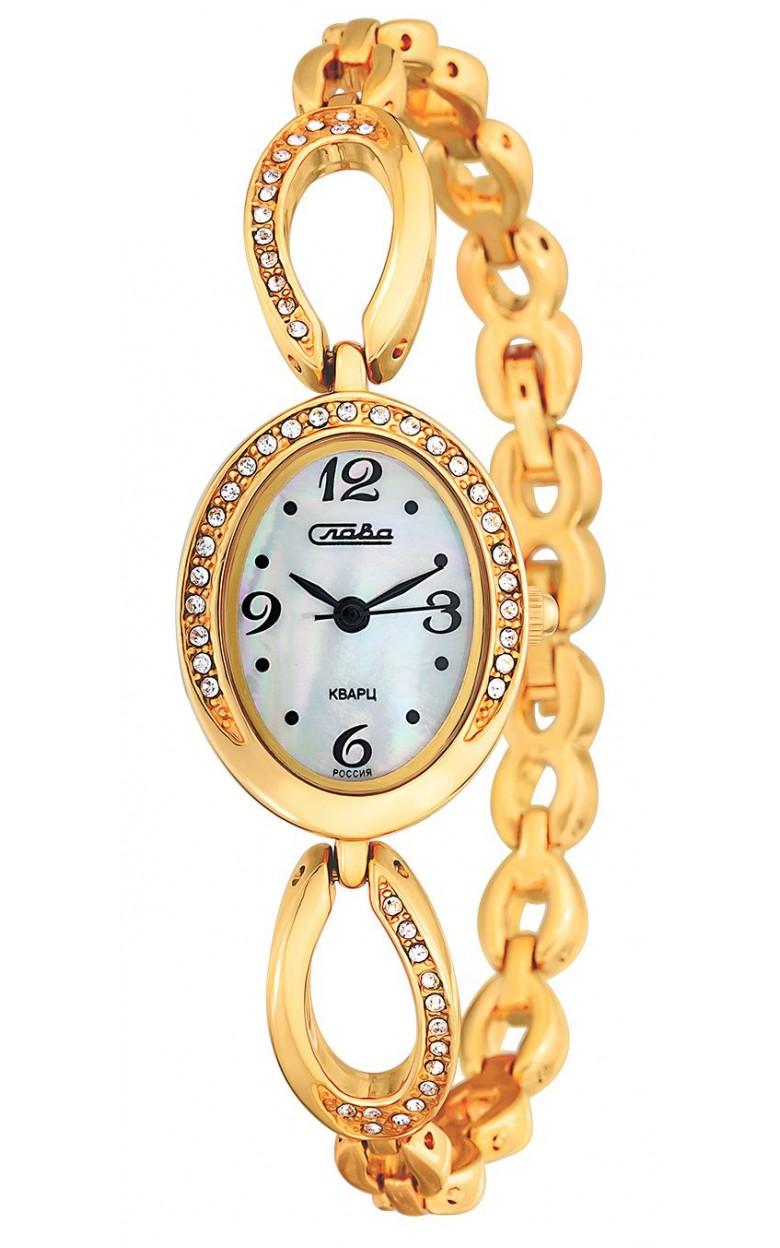 6063109/2035 российские женские кварцевые наручные часы Слава