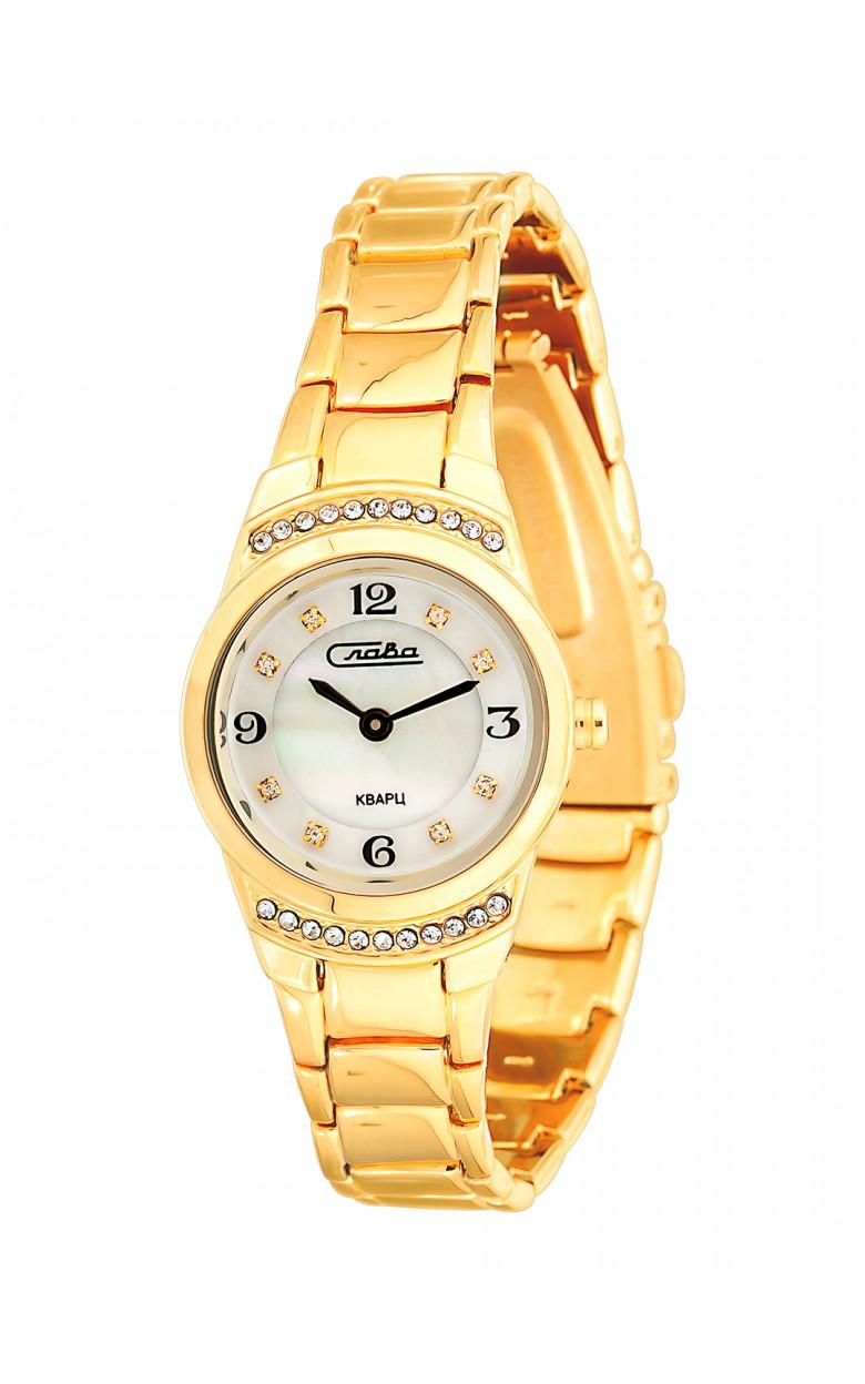 6193198/2025 российские женские кварцевые наручные часы Слава 6193198/2025