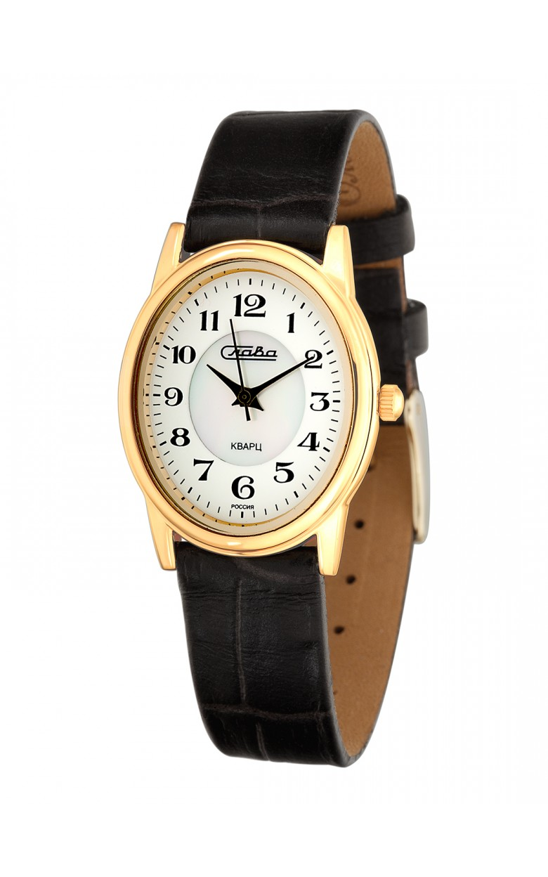 6213474/2035 российские женские кварцевые наручные часы Слава 6213474/2035