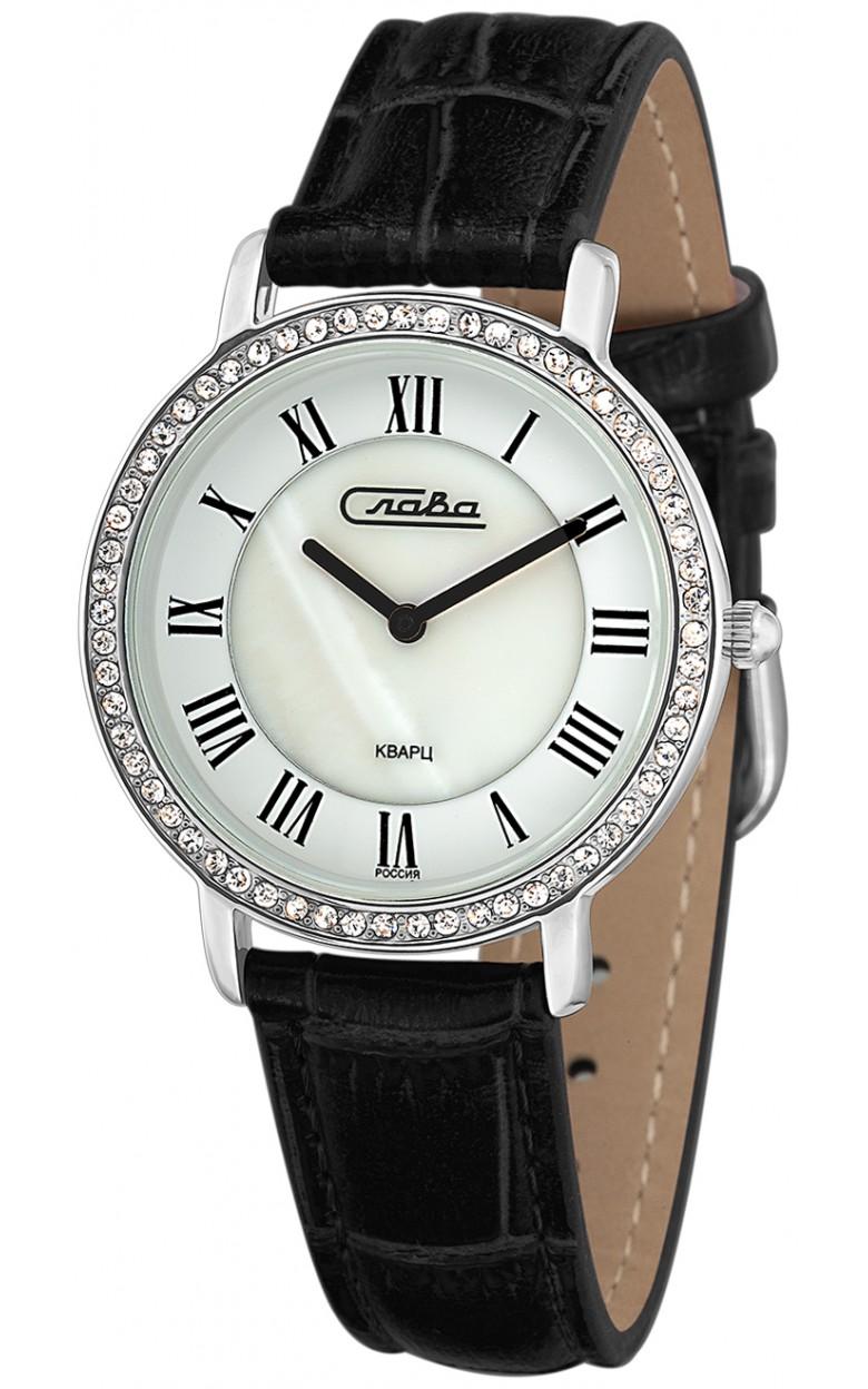 6231485/2025 российские женские кварцевые наручные часы Слава 6231485/2025