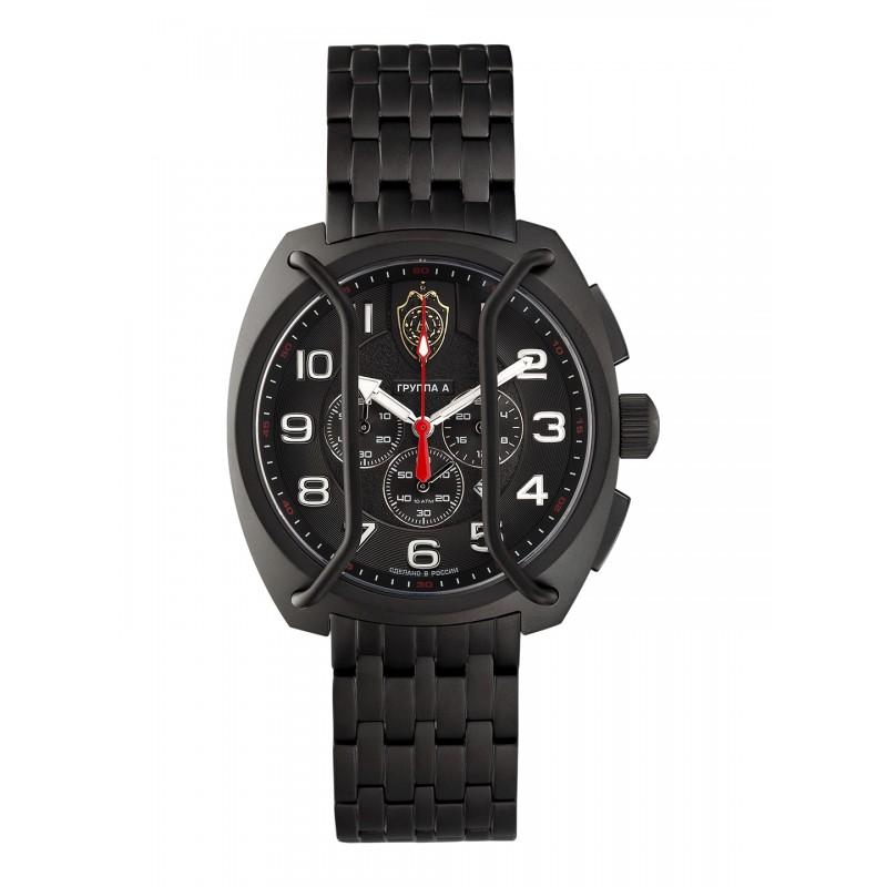 """С9664416-OS20  кварцевые с функциями хронографа наручные часы Спецназ """"Группа А"""" логотип Спецназ Группа А  С9664416-OS20"""