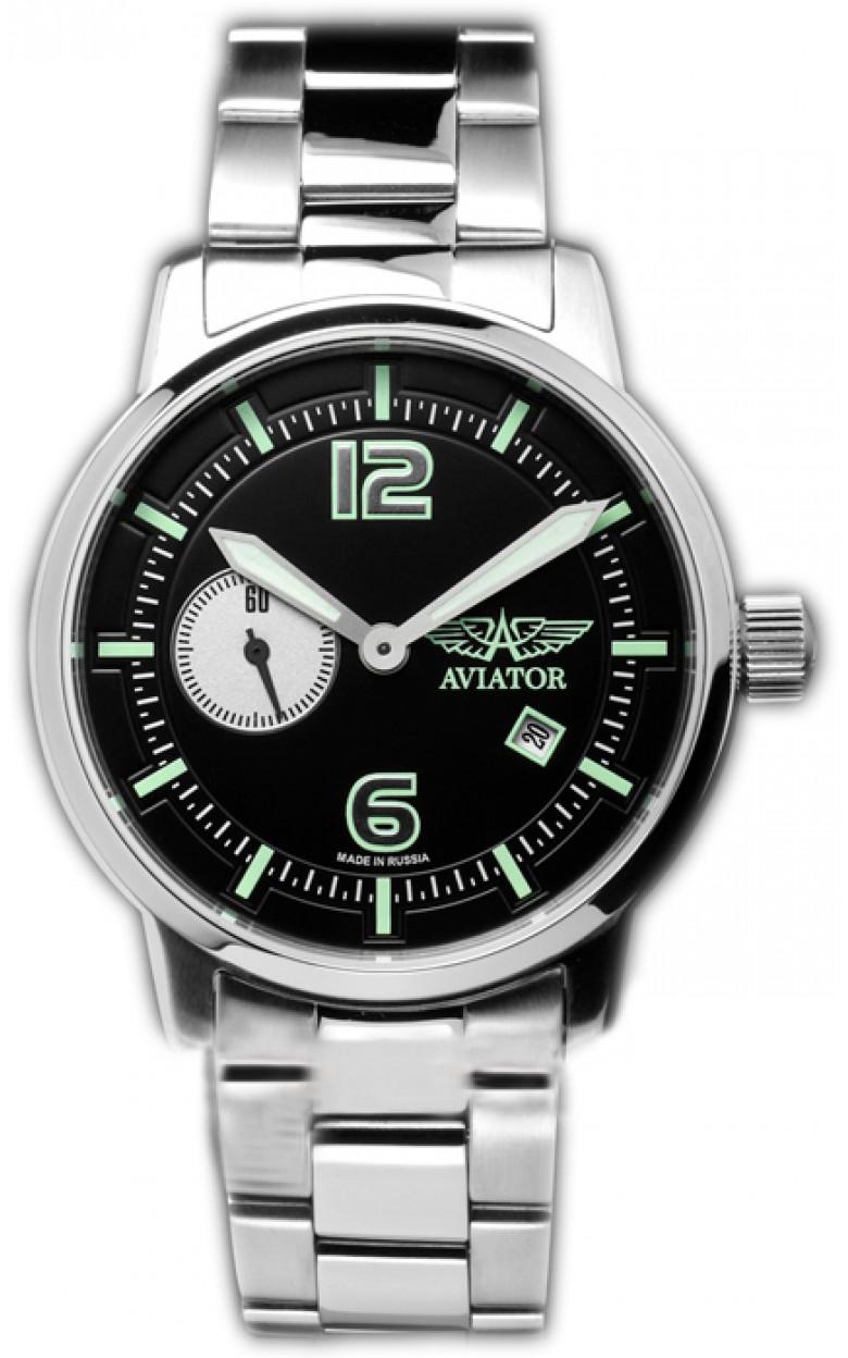3105/1735715 B российские мужские механические наручные часы Aviator