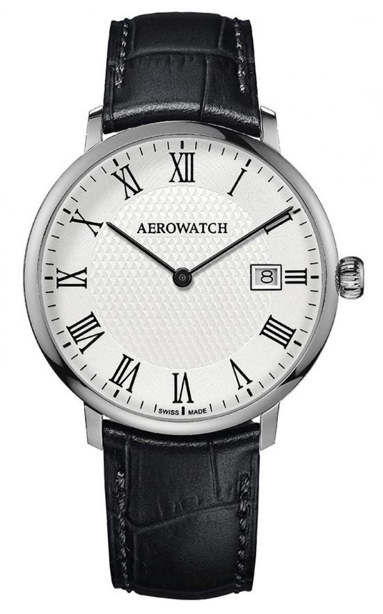 """21976 AA07  кварцевые наручные часы Aerowatch """"Heritage - Slim Quartz"""" с сапфировым стеклом 21976 AA07"""