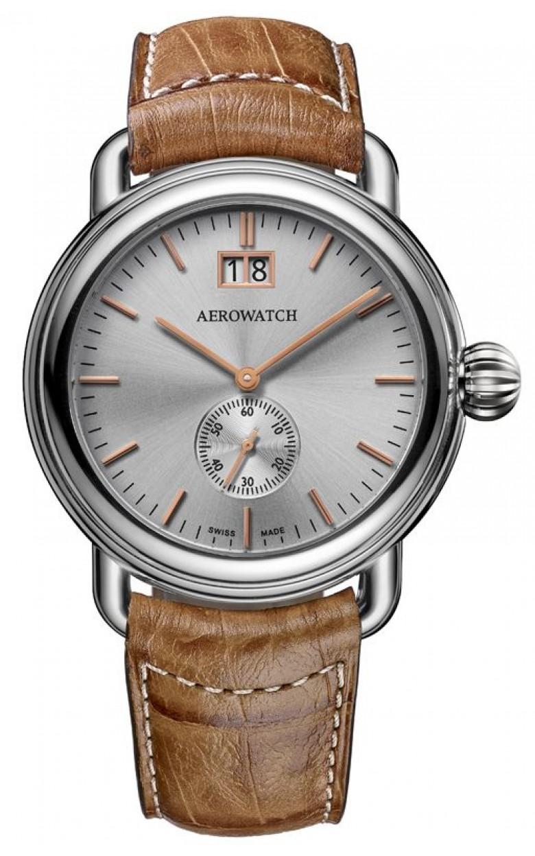 "41900 AA03 швейцарские часы Aerowatch ""1942 Q 40 2+1 Big Date""  41900 AA03"