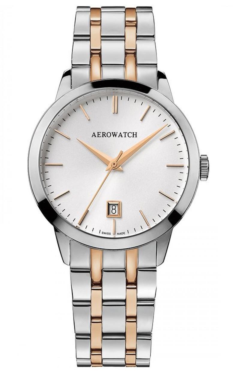 "42972 BI02 M  кварцевые часы Aerowatch ""Les Grandes Classiques – Gent Quartz"" с сапфировым стеклом 42972 BI02 M"