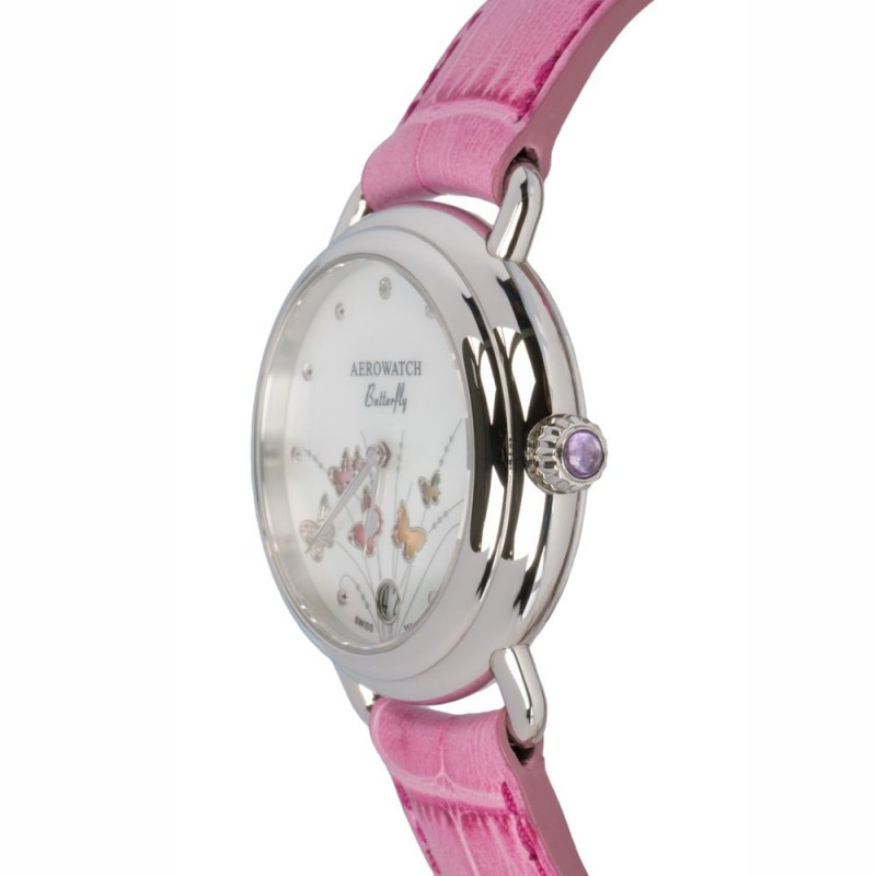 "44960 AA05  кварцевые наручные часы Aerowatch ""1942 Q 35 Butterfly"" с сапфировым стеклом 44960 AA05"