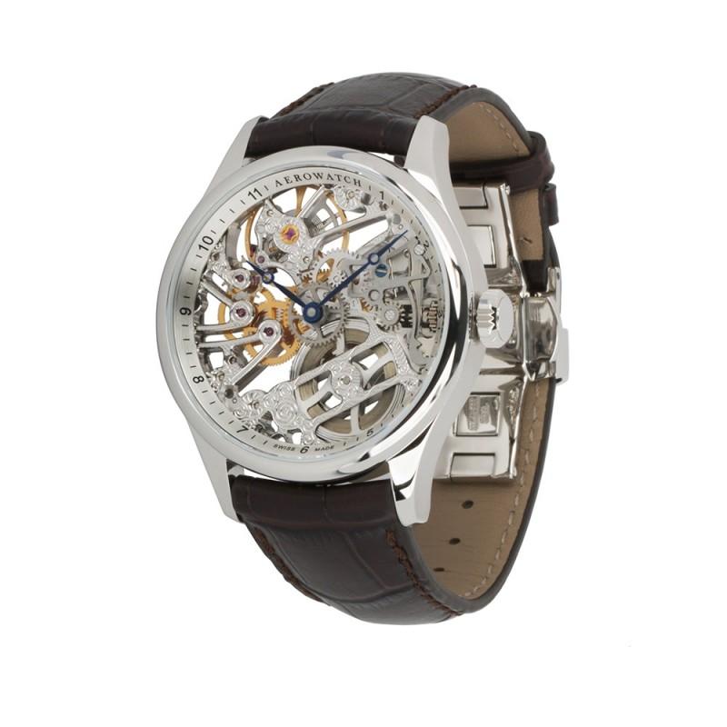 """50981 AA01  механические часы Aerowatch """"Skeleton Classic"""" с сапфировым стеклом 50981 AA01"""