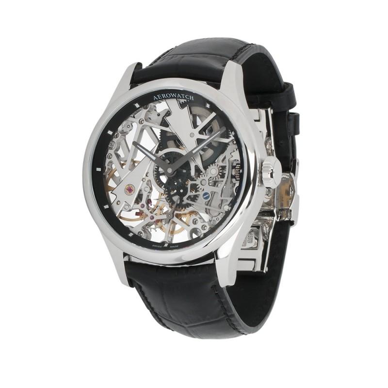 """50981 AA12  механические наручные часы Aerowatch """"Skeleton Fir Tree"""" с сапфировым стеклом 50981 AA12"""