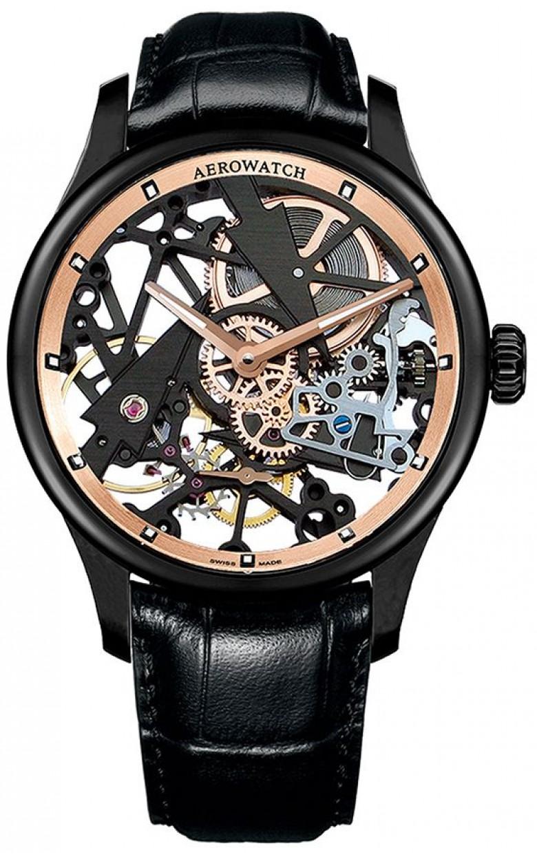 """50981 NO12  механические наручные часы Aerowatch """"Skeleton Fir Tree"""" с сапфировым стеклом 50981 NO12"""