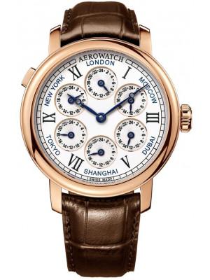 Aerowatch Aerowatch Renaissance 7 Time Zones 51974 R101