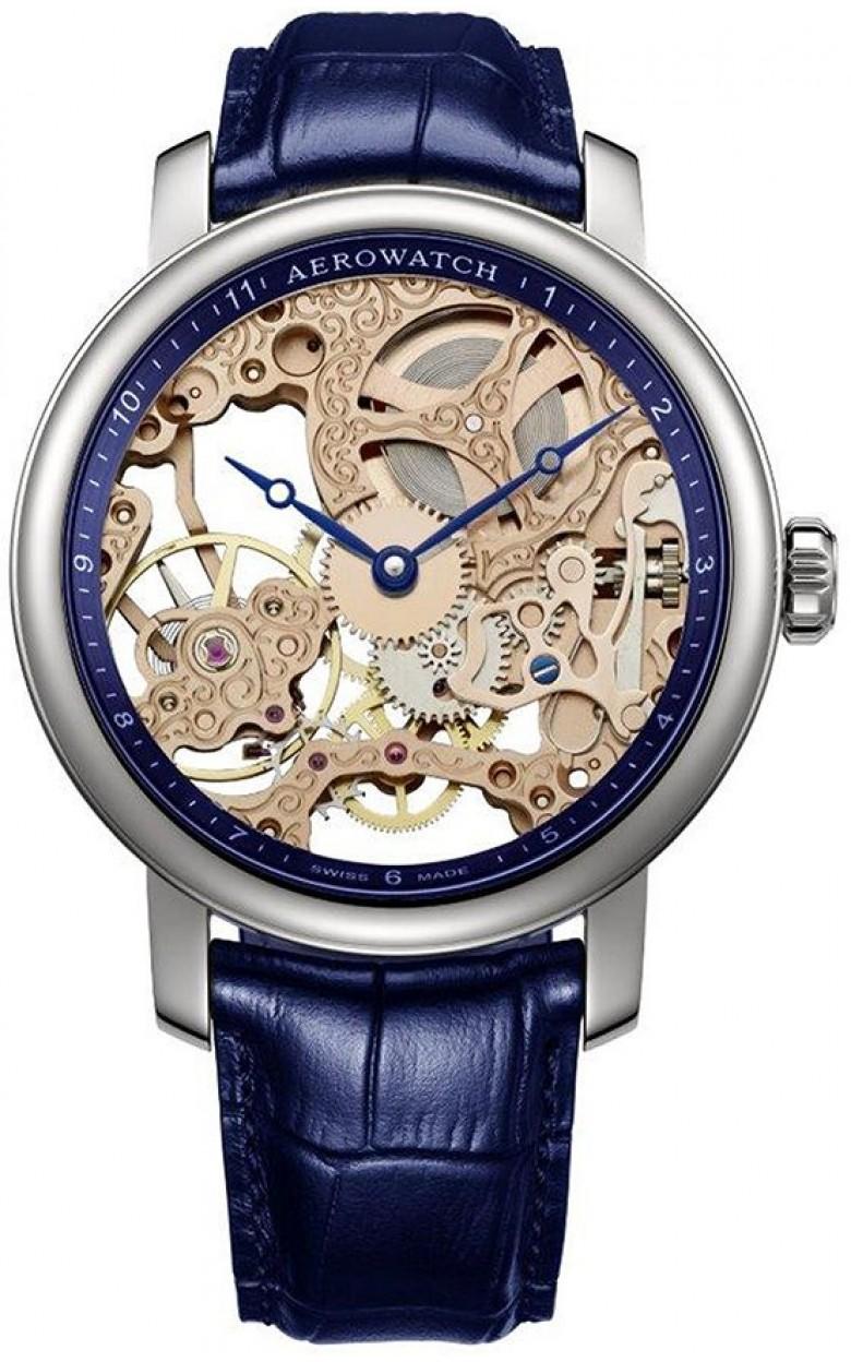 """57931 AA11  механические наручные часы Aerowatch """"Renaissance Skeleton"""" с сапфировым стеклом 57931 AA11"""