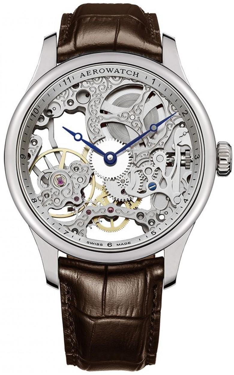 """57981 AA01  механические часы Aerowatch """"Renaissance"""" с сапфировым стеклом 57981 AA01"""
