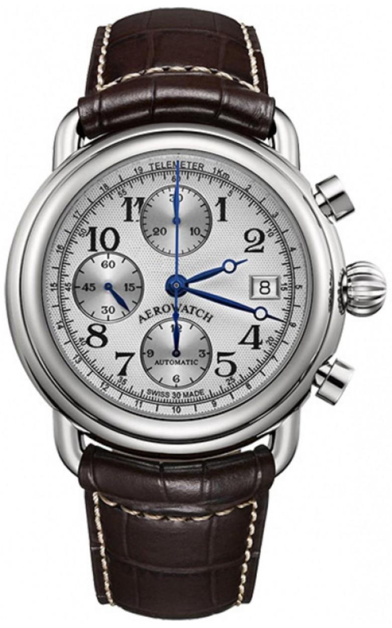 """61901 AA10 S  механические наручные часы Aerowatch """"1942 – Chronograph"""" с сапфировым стеклом 61901 AA10 S"""