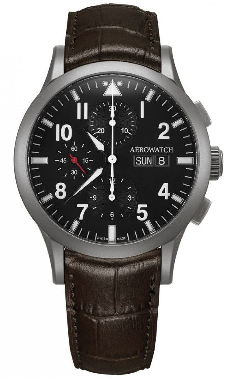 """61948 AA03  механические с автоподзаводом часы Aerowatch """"Les Grandes Classiques"""" с сапфировым стеклом 61948 AA03"""