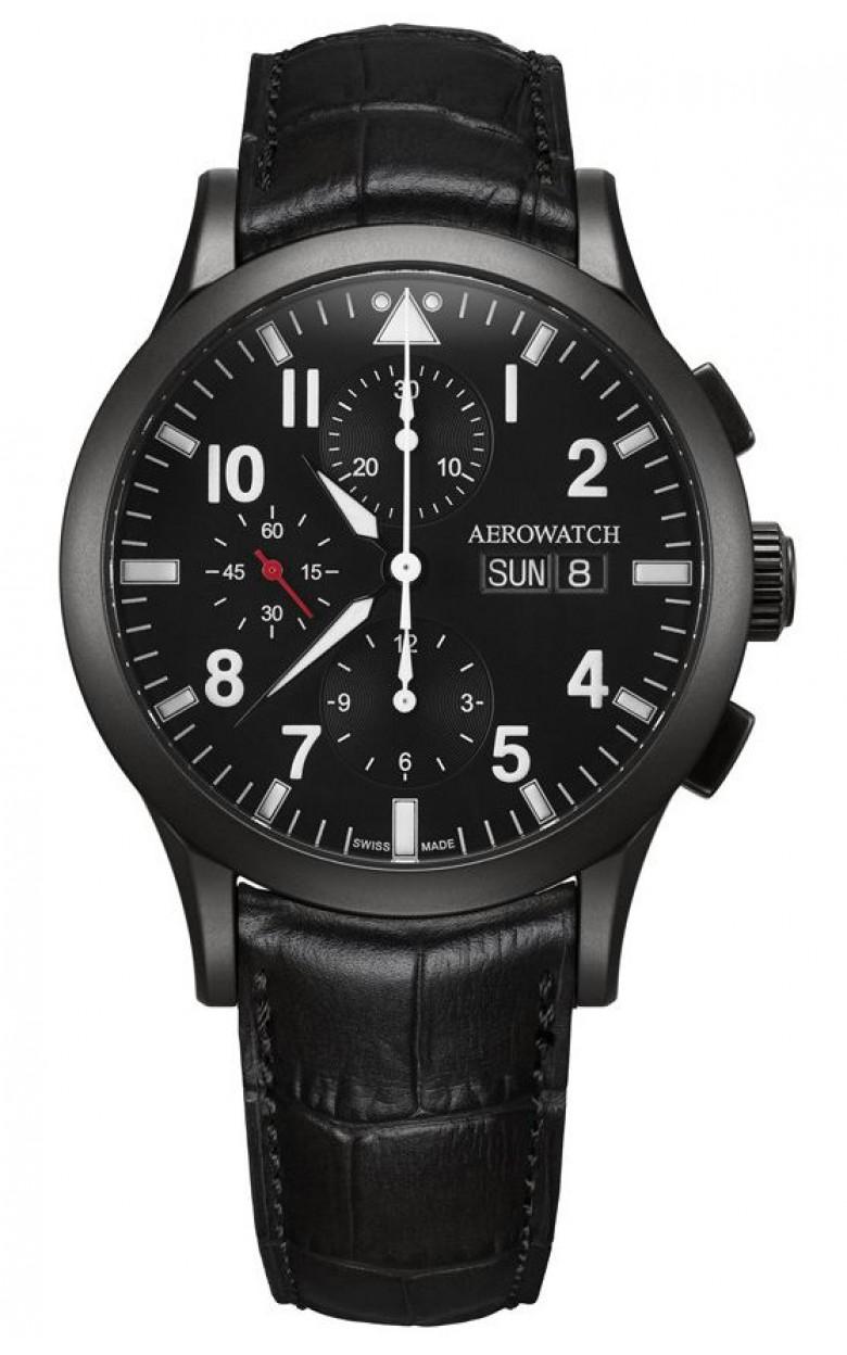 """61948 NO03  механические с автоподзаводом часы Aerowatch """"Les Grandes Classiques"""" с сапфировым стеклом 61948 NO03"""