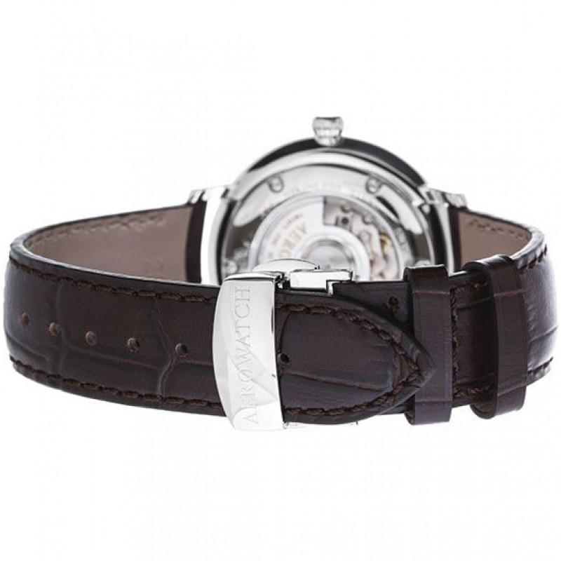 """67975 AA01  механические с автоподзаводом наручные часы Aerowatch """"Heritage Slim Automatic"""" с сапфировым стеклом 67975 AA01"""