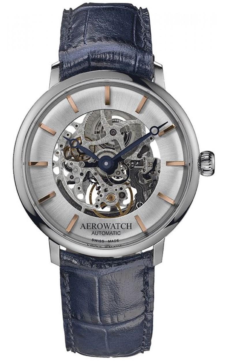 """67975 AA01 SQ  механические наручные часы Aerowatch """"Heritage Slim Automatic SQ"""" с сапфировым стеклом 67975 AA01 SQ"""