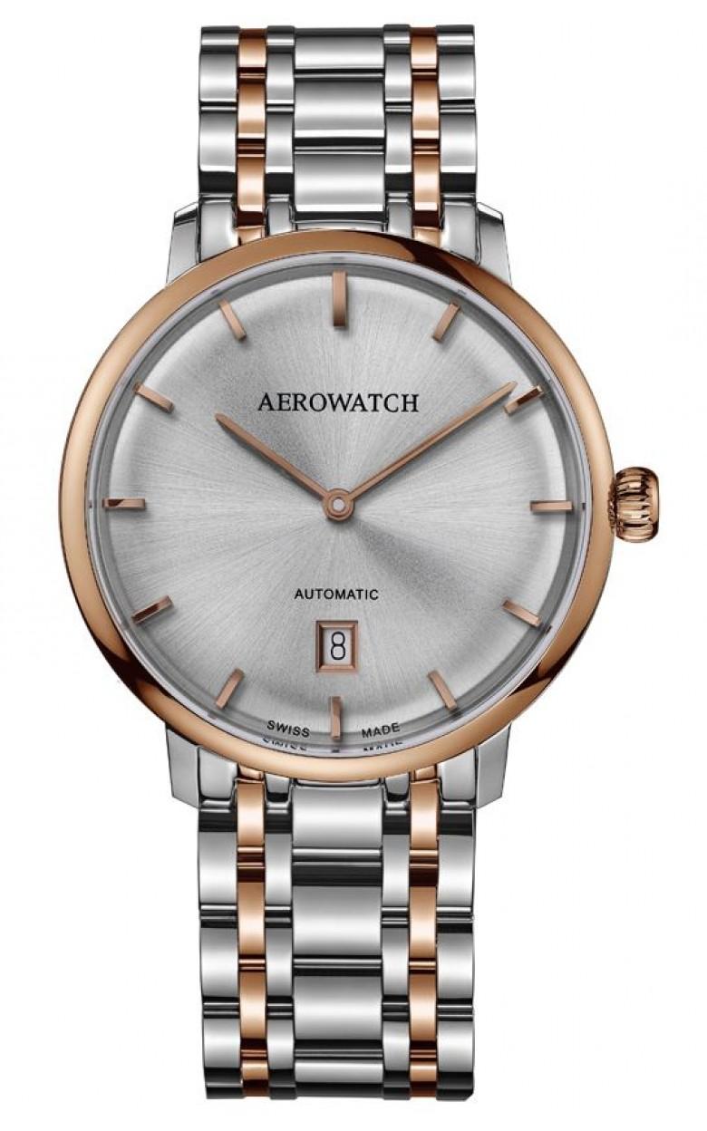 """67975 BI01 M  механические с автоподзаводом часы Aerowatch """"Heritage Slim Automatic"""" с сапфировым стеклом 67975 BI01 M"""