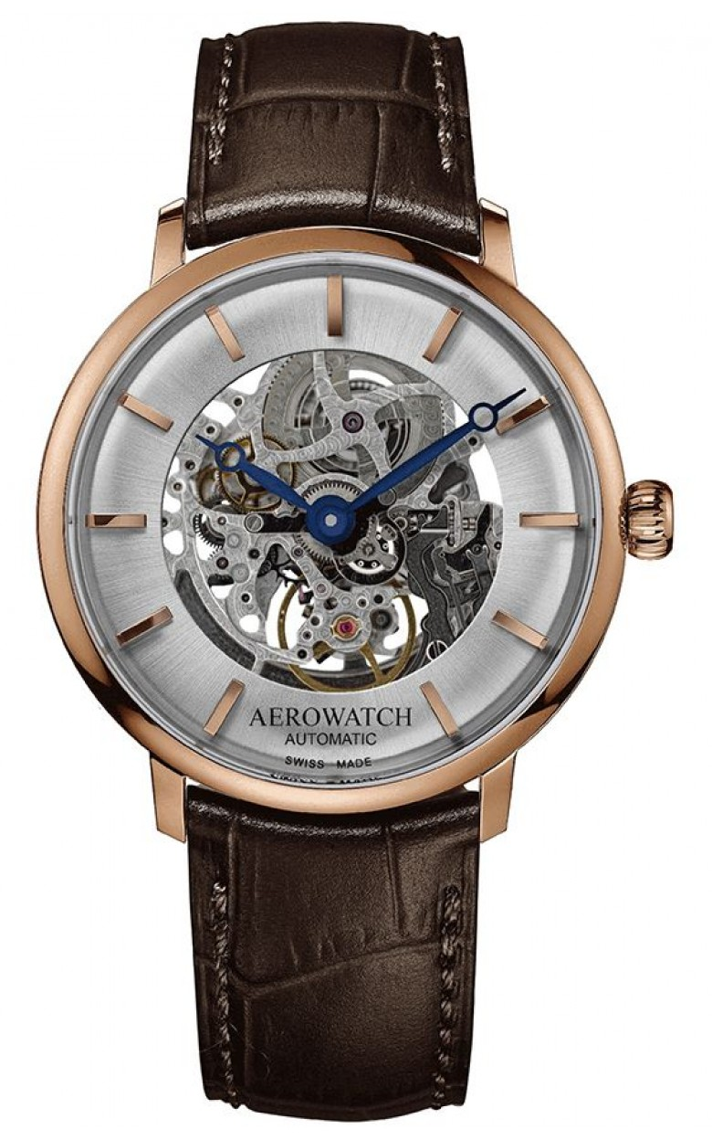 "67975 RO01 SQ швейцарские наручные часы Aerowatch ""Heritage Slim Automatic SQ""  67975 RO01 SQ"