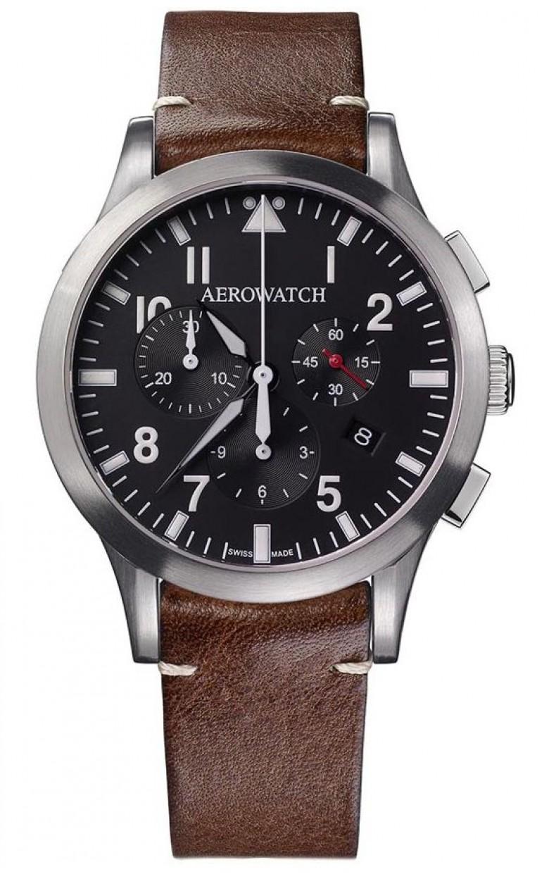 "83966 AA03  кварцевые часы Aerowatch ""Les Grandes Classiques"" с сапфировым стеклом 83966 AA03"