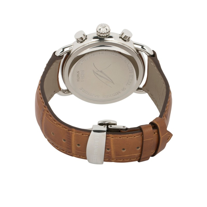 "84934 AA06  кварцевые часы Aerowatch ""1942 Q 42 Chr Moon"" с сапфировым стеклом 84934 AA06"