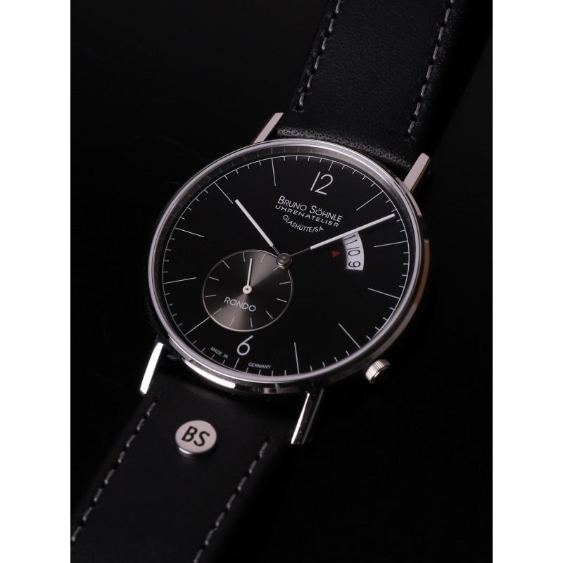 """17-13053-761  кварцевые наручные часы Bruno Sohnle """"Rondo"""" с сапфировым стеклом 17-13053-761"""