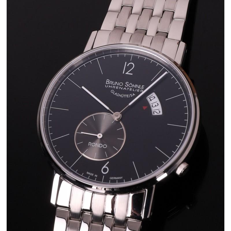 """17-13053-762 MB  кварцевые часы Bruno Sohnle """"Rondo"""" с сапфировым стеклом 17-13053-762 MB"""