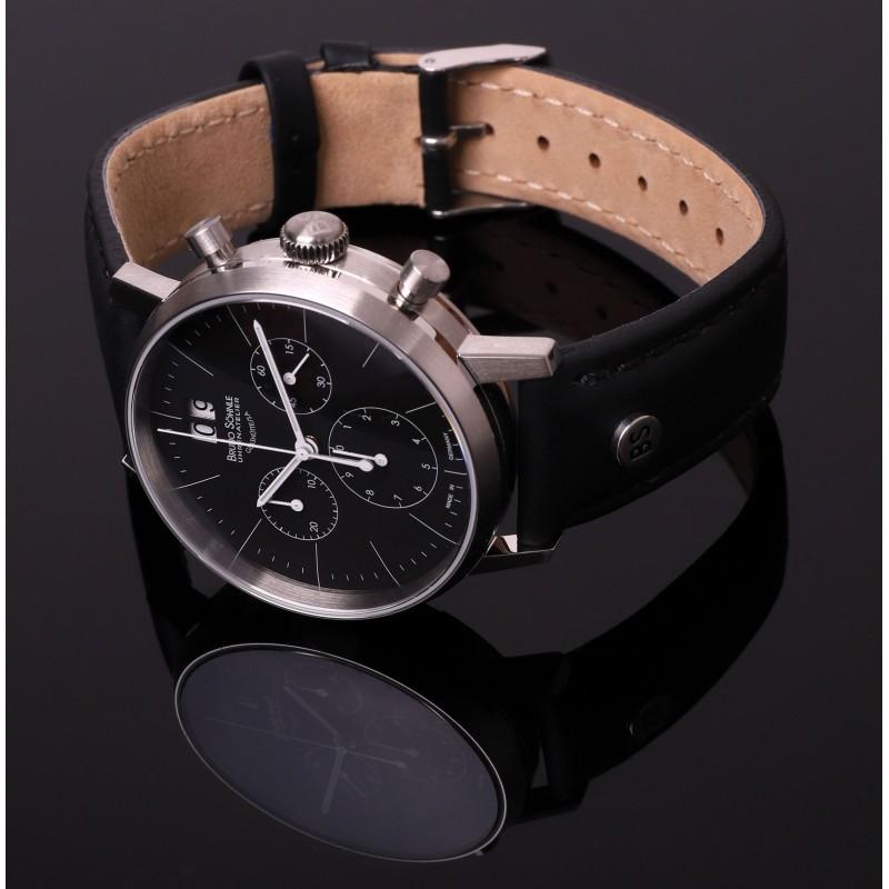 """17-13178-741  кварцевые наручные часы Bruno Sohnle """"Stuttgart"""" с сапфировым стеклом 17-13178-741"""