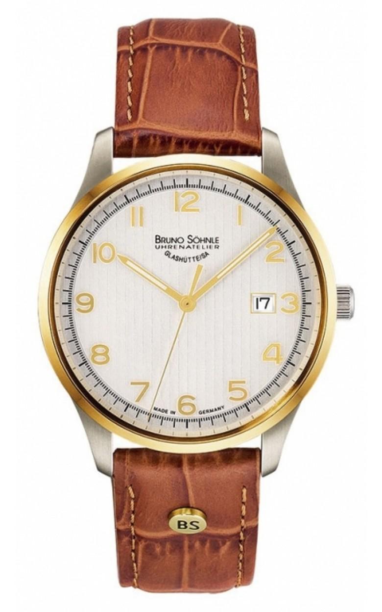 """17-23170-221  кварцевые часы Bruno Sohnle """"Temperi"""" с сапфировым стеклом 17-23170-221"""