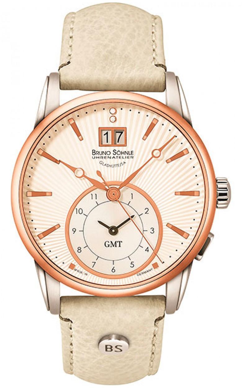 """17-63154-241  кварцевые наручные часы Bruno Sohnle """"Atrium"""" с сапфировым стеклом 17-63154-241"""