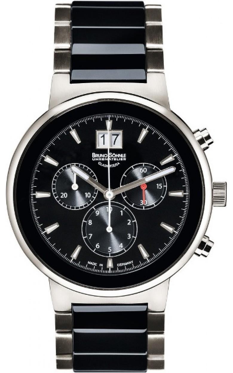 """17-73133-742 MB  кварцевые наручные часы Bruno Sohnle """"Algebra"""" с сапфировым стеклом 17-73133-742 MB"""